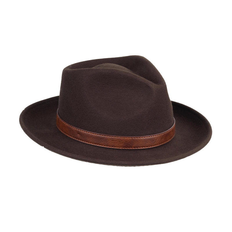 3c3e8aae67b Felt Hat Brown