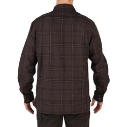 Jagdhemd 100 langarm braun