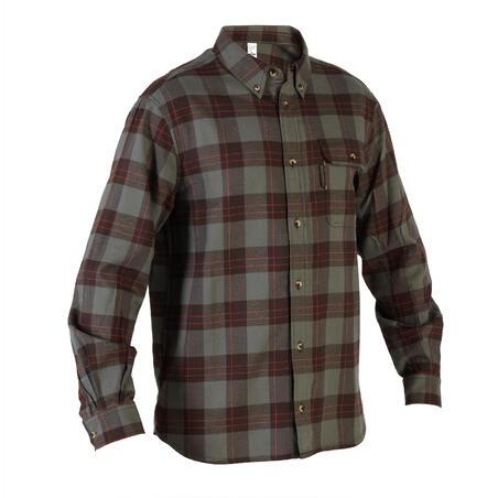 Long Sleeve Warm Shirt - Green