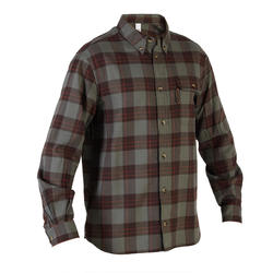 Chemise chaude manches longues chasse 500 verte