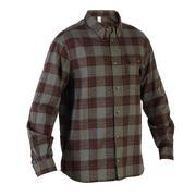 Zelena lovska srajca z dolgimi rokavi 100