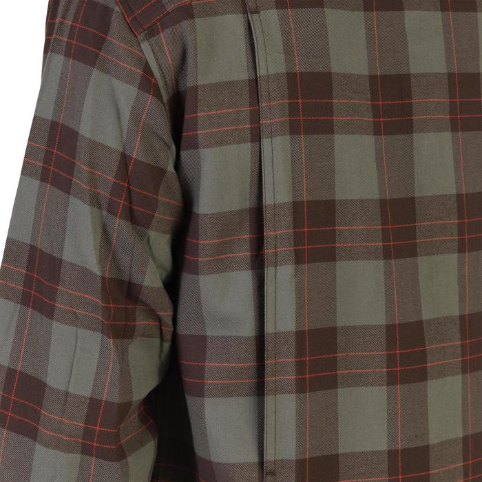 Jagdhemd warm langarm 500 grün