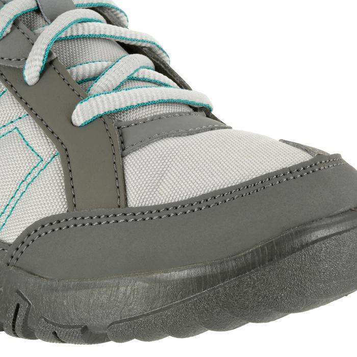 Wandelschoenen voor dames Arpenaz 50 grijs/groen