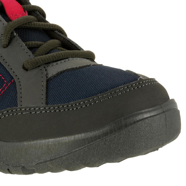 Women's Hiking Shoes NH100 - Navy Pink