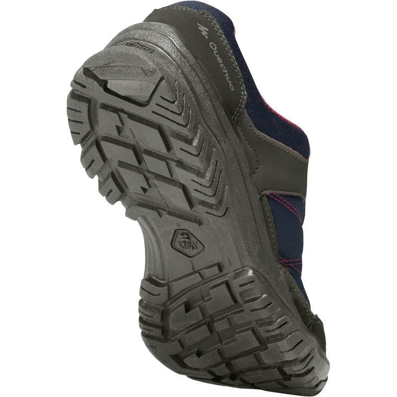 Women's Hiking Shoes NH100 - Navy Pink