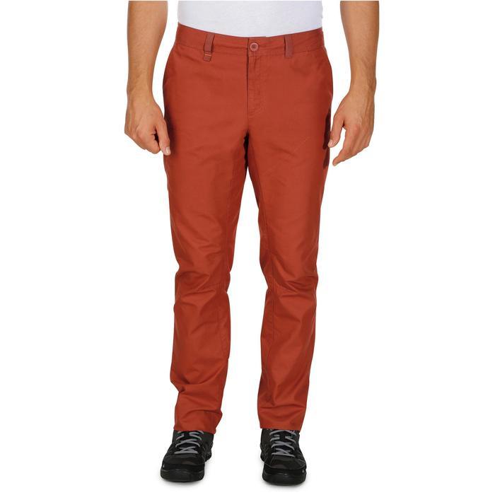 Pantalon randonnée nature homme NH500 gris foncé - 1140372