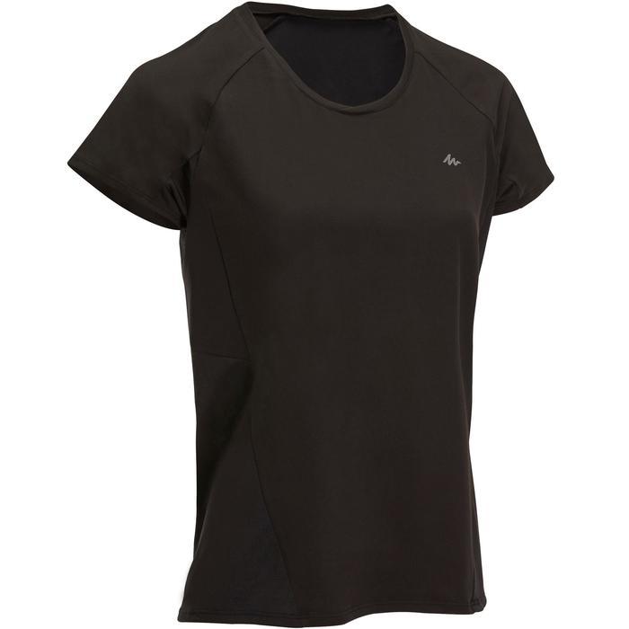 Wandershirt MH500 Damen schwarz