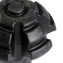 Doppen voor de punten van je stokken, voor meer demping op een harde ondergrond - 114045