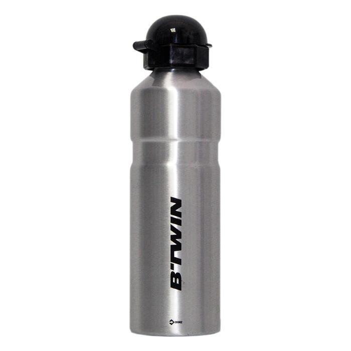 鋁製水瓶-銀色