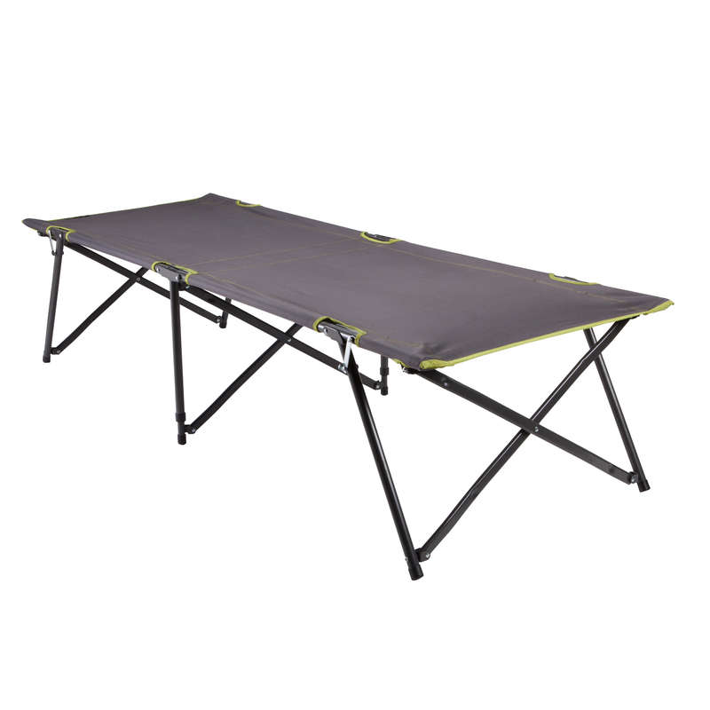 BASE CAMP MATTRESS - Arpenaz L100 Camp Bed - 70cm QUECHUA