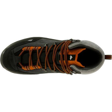 Ботинки для треккинга непромокаемые мужские TREKKING 100