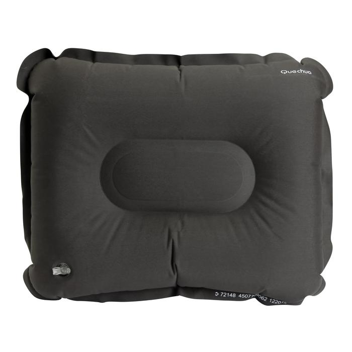 Almohada Hinchable Camping Quechua Inflable Air Basic Negro