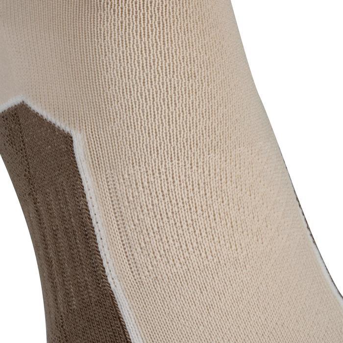Chaussettes randonnée nature NH500 Mid beige X 2 paires