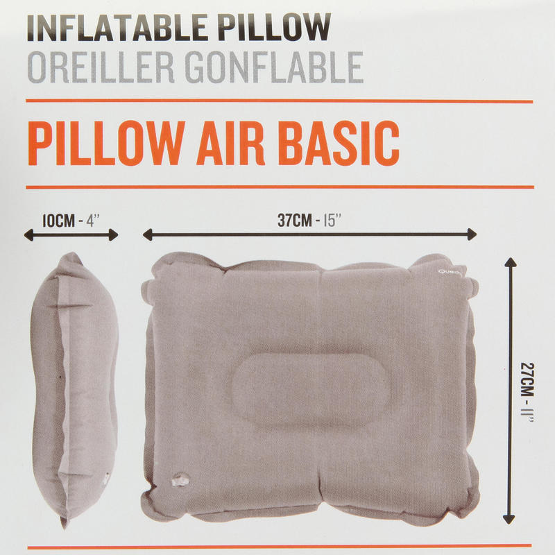 Camping Pillow (Inflatable) - Black