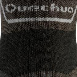 Calcetines de senderismo montaña media caña. 2 pares MH 900 negro