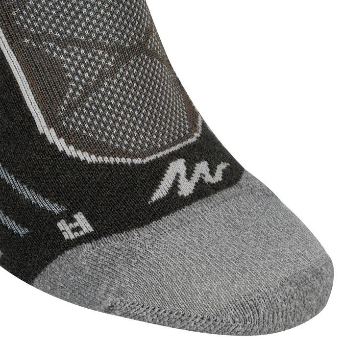 2 paires de chaussettes de randonnée montagne tige mid adulte Forclaz 900 - 1141108