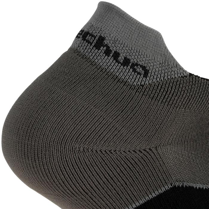 Short Country Walking Socks .Arpenaz 100 2 Pairs - Grey