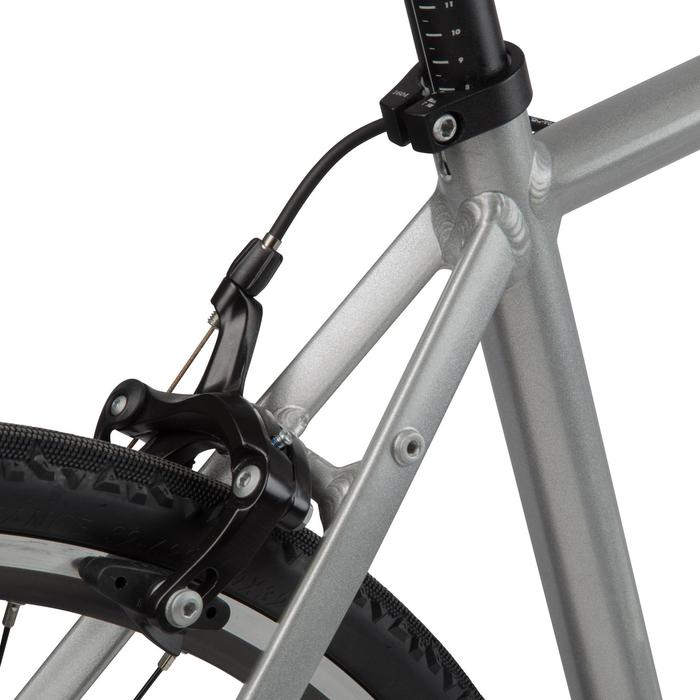 VELO ROUTE TRIBAN 100 GRIS - 1141183