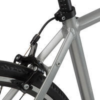 Triban 100 Cycle Touring Road Bike - Grey