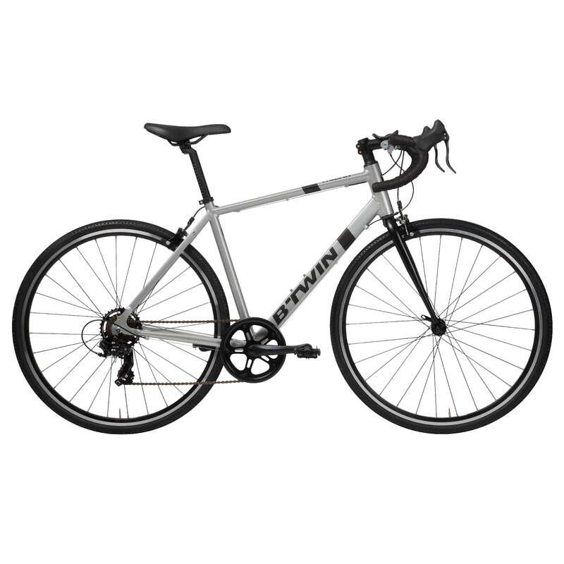 LANDSVÄGSCYKLAR CYKELTURISM Cykel - Landsvägscykel TRIBAN 100 Grå BTWIN - Cykel 17