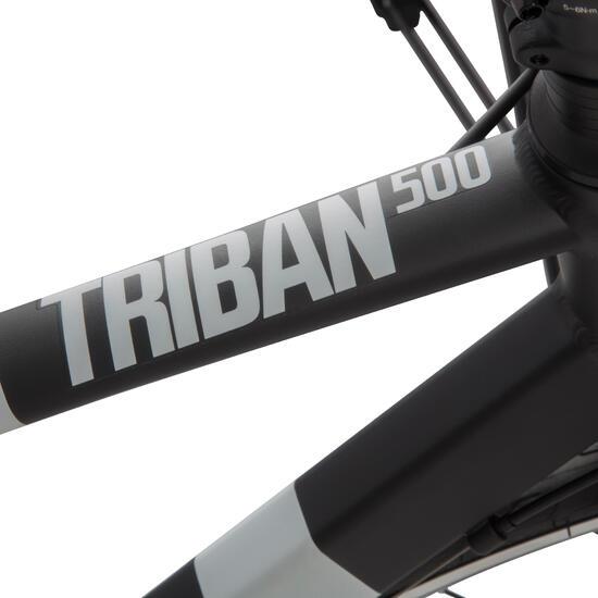 VELO ROUTE TRIBAN 500 NOIR/BLANC