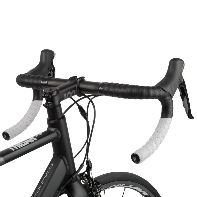 Triban 540 Cycle Touring Road Bike - Grey/Black