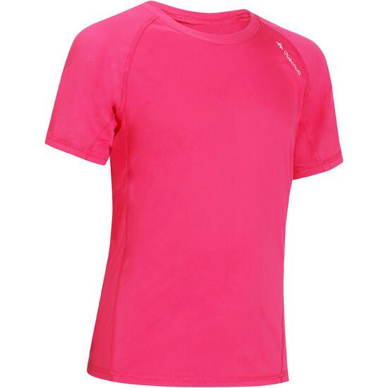 Jongens T-shirt voor wandelen Hike 100 - 1141259