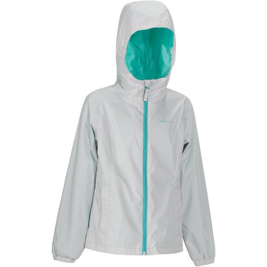 Regenjas voor trekking meisjes Hike 500 - 1141349