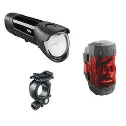 Fahrradbeleuchtung Set Front-/Rücklicht Busch+Müller Fyre + Ixxi 30 Lux