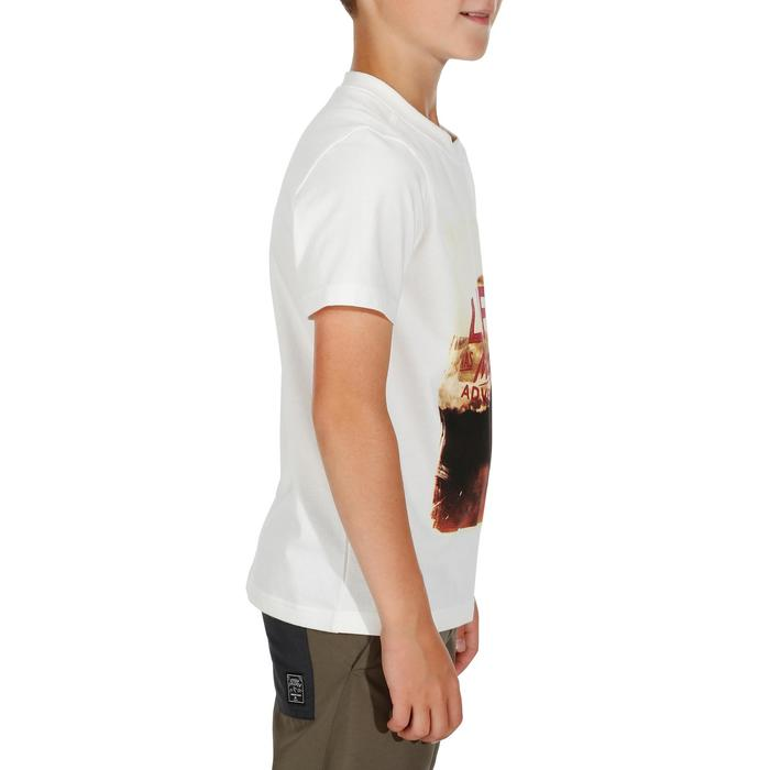 Wandel T-shirt voor kinderen Hike 500 wit