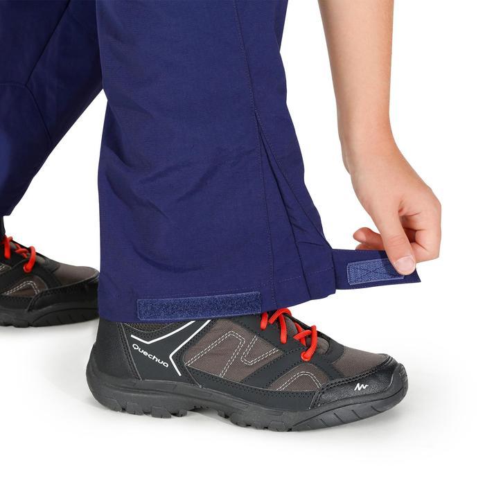 Zip-Off-Wanderhose Hike 900 Kinder Jungen blau