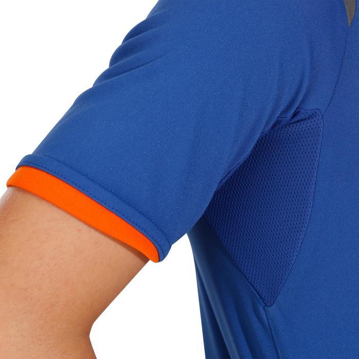 Camiseta Manga Corta de Montaña niños 7-15 años Forclaz MH550 Azul