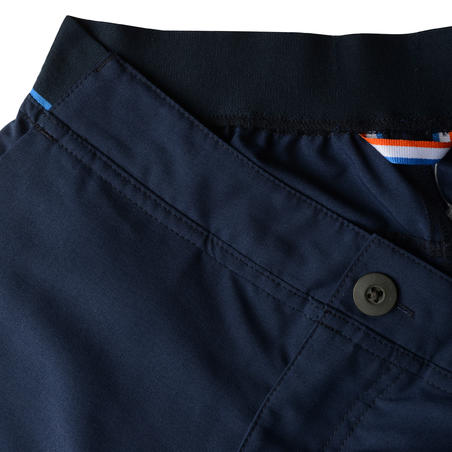 MH100 Children's Hiking Shorts 7-15 Years - Navy