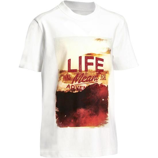 Jongens T-shirt voor wandelen Hike 500 - 1141696