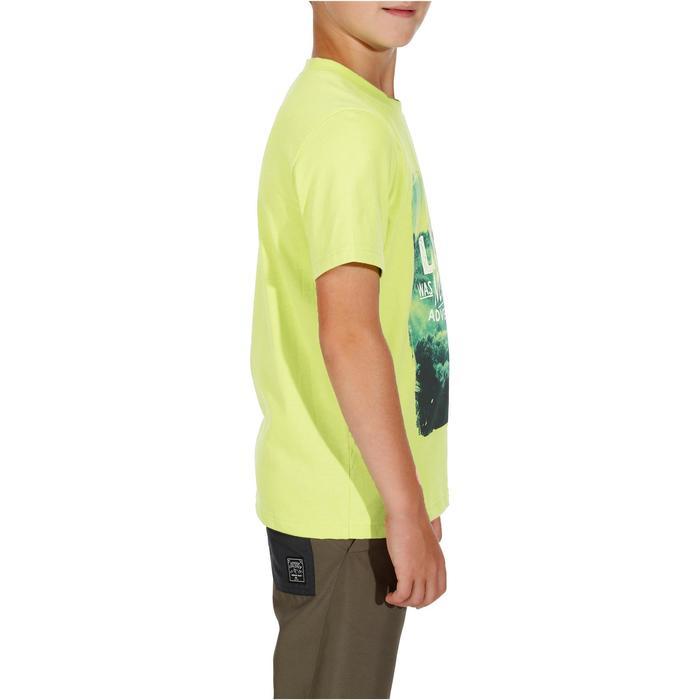 Camiseta de senderismo niño Hike 500 verde