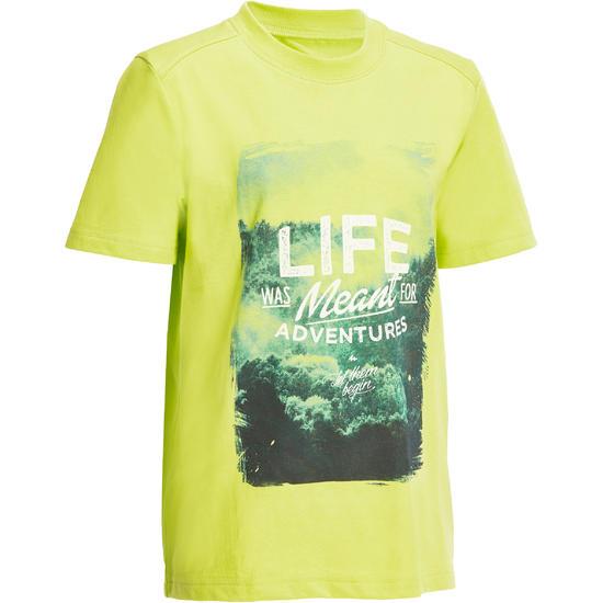 Jongens T-shirt voor wandelen Hike 500 - 1141706