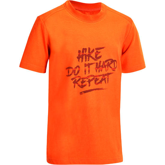Jongens T-shirt voor wandelen Hike 500 - 1141725