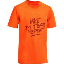 Hike 500 Children's Hiking T-shirt - White