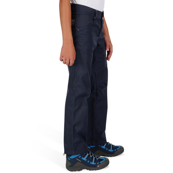 Wandelbroek voor jongens Hike 500 marineblauw