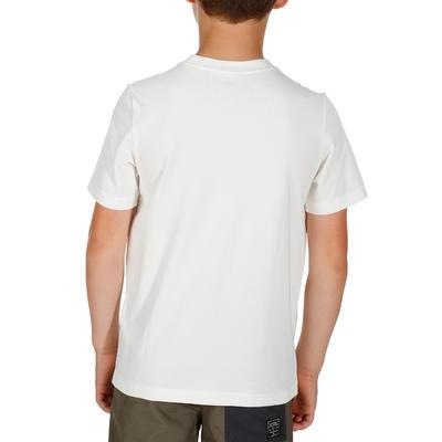 Hike 500 Children's Hiking T-shirt - White
