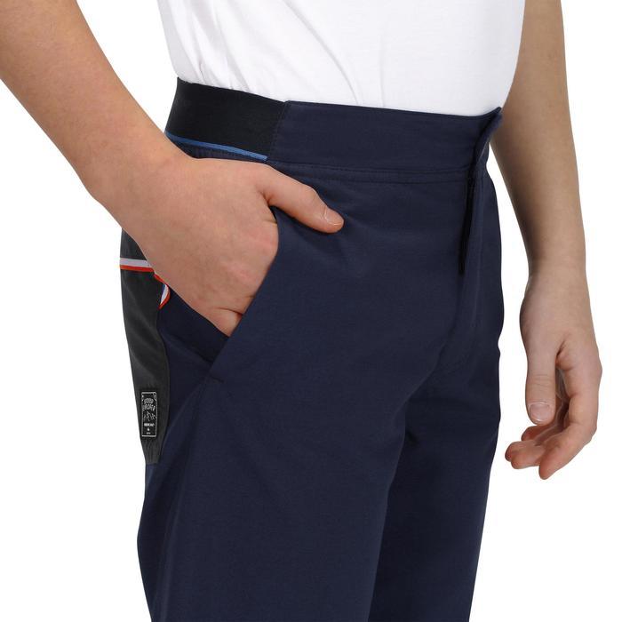 Pantalón corto de senderismo júnior MH100 azul marino 7 A 15 AÑOS