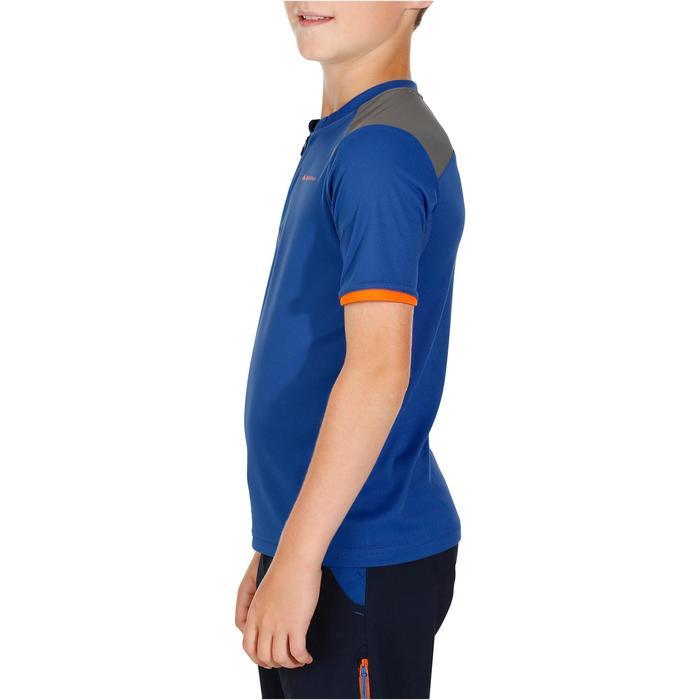 Wandershirt Hike 900 Kinder Jungen blau