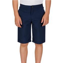 Short de randonnée enfant Hike 100 bleu marine
