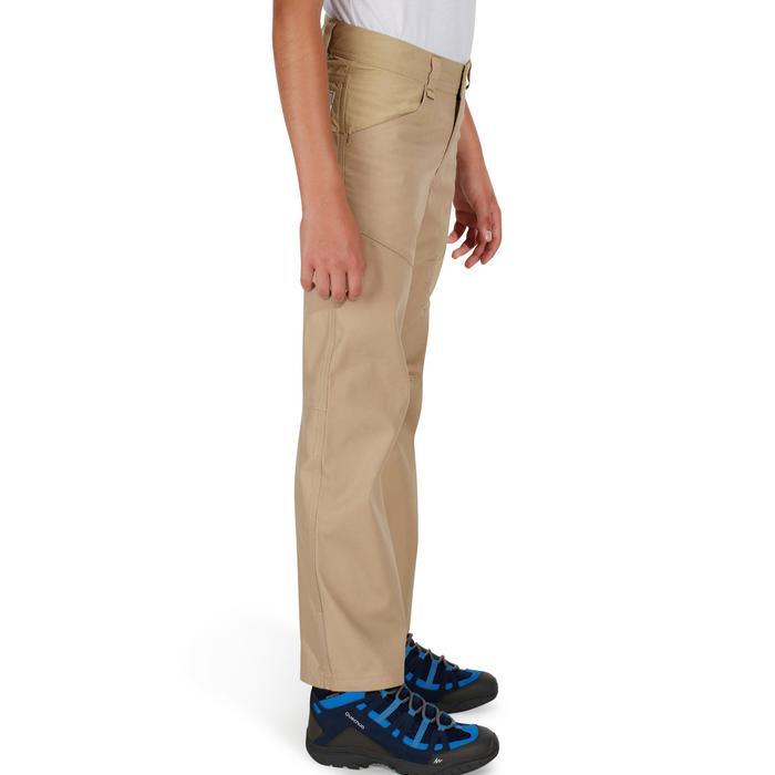 Pantalón de senderismo júnior Hike 500 beige