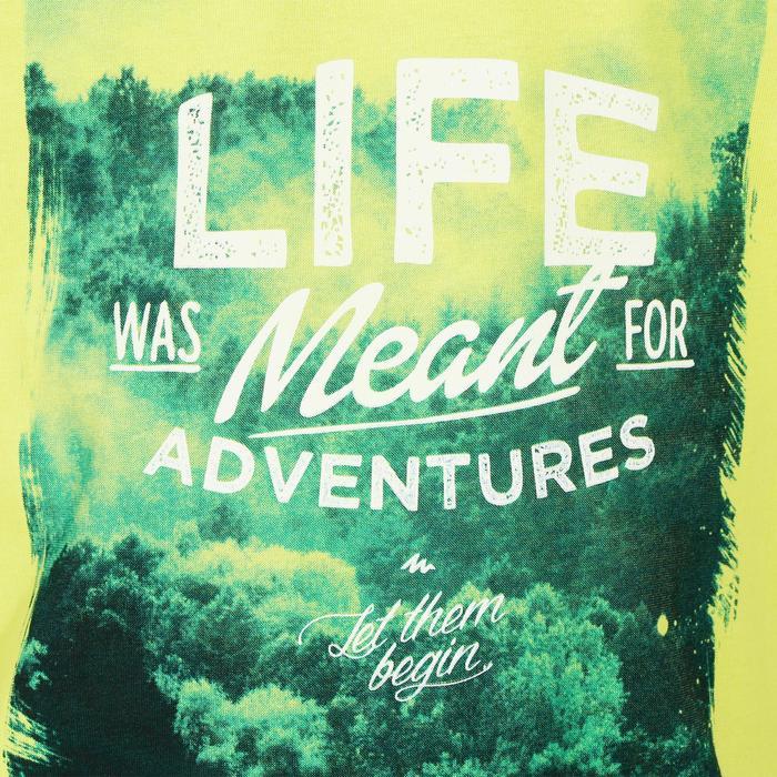 T-Shirt de randonnée enfant Hike 500 vert