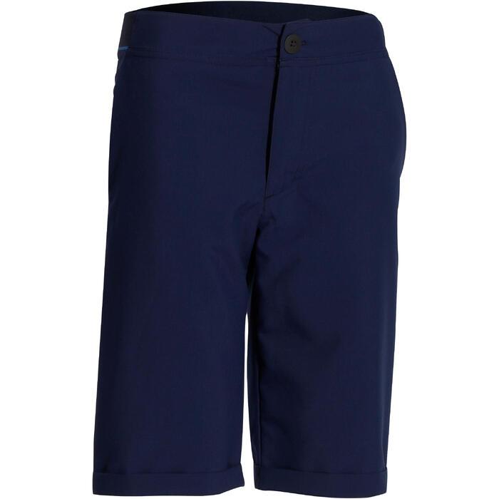 Wandelshort voor jongens Hike 100 marineblauw