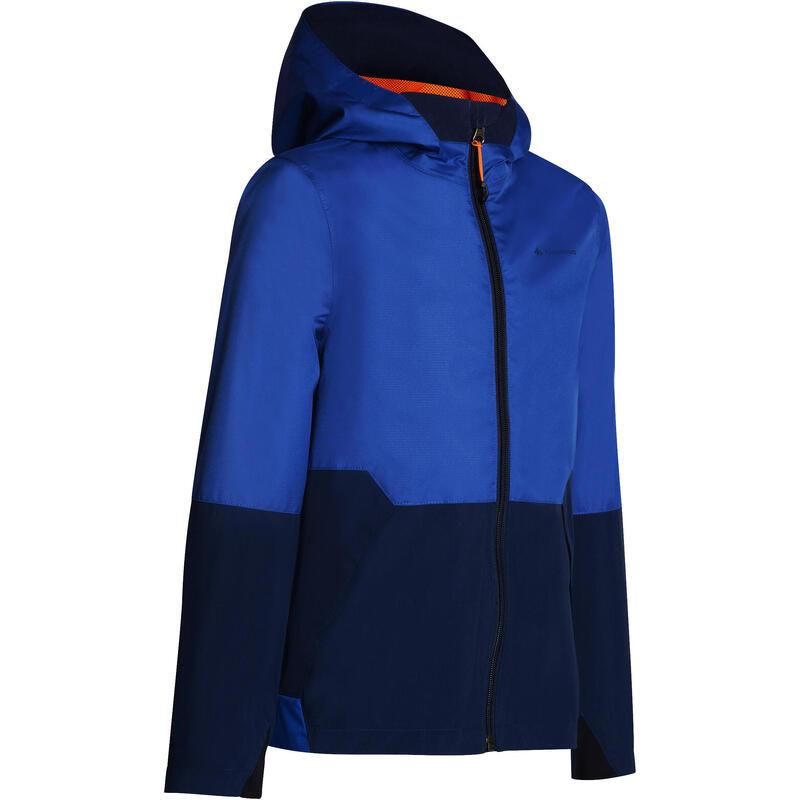 meilleur service 97fc7 e229d Veste imperméable de randonnée enfant MH 500 bleu