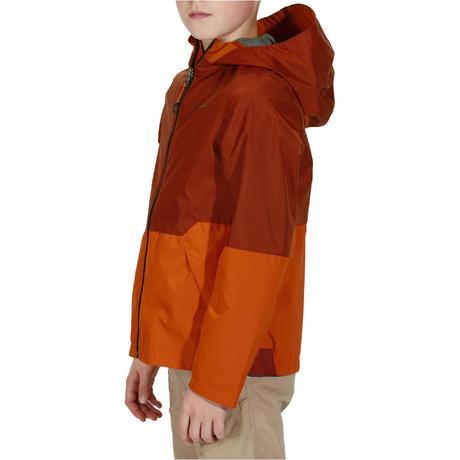 Mh Quechua Enfant Veste Imperméable De 500 Rouge Randonnée Bq1FIw