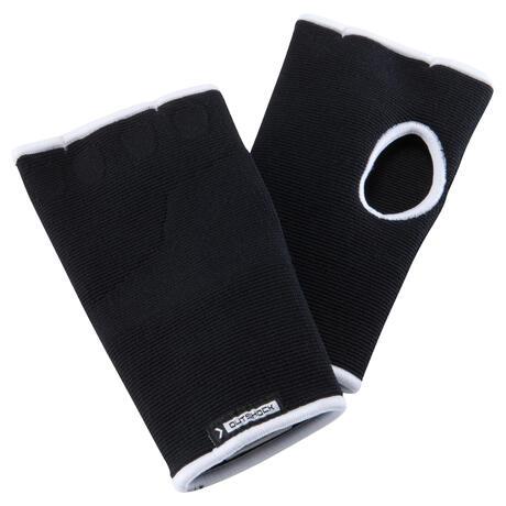 mitaine sous gants de boxe noir domyos by decathlon. Black Bedroom Furniture Sets. Home Design Ideas