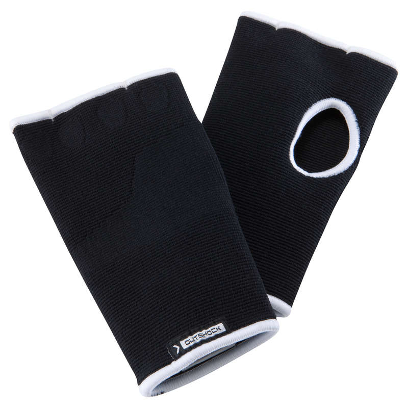 WRAPS AND UNDER GLOVES Boxing - 100 Inner Gloves - Black OUTSHOCK - Boxing